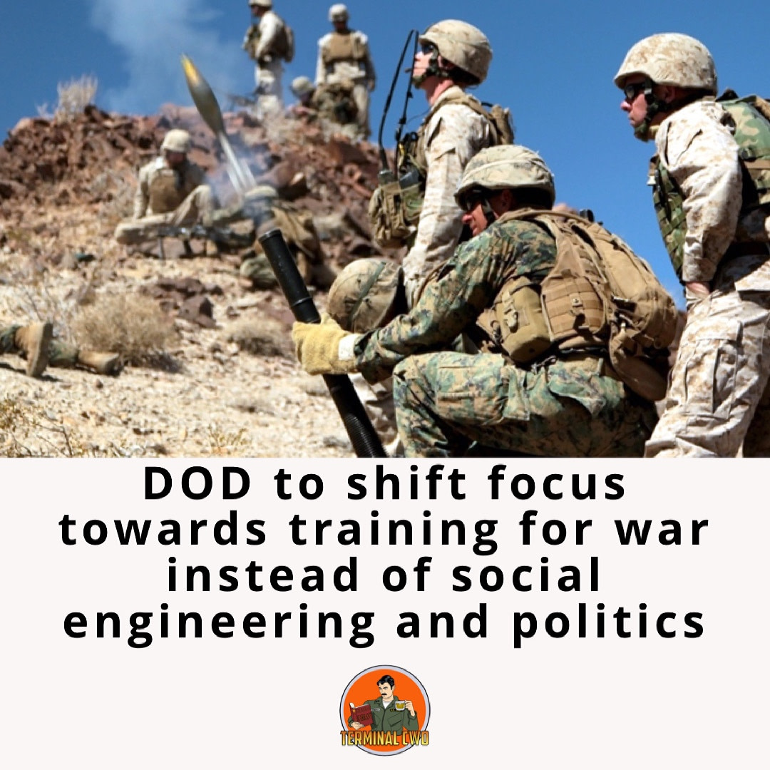 DOD to focus on war 1